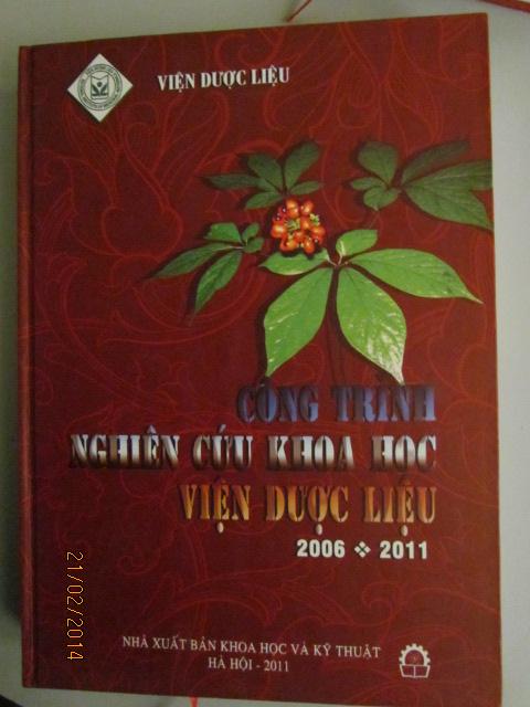 CÔNG TRÌNH NGHIÊN CỨU KHOA HỌC VIỆN DƯỢC LIỆU 2006 - 2011