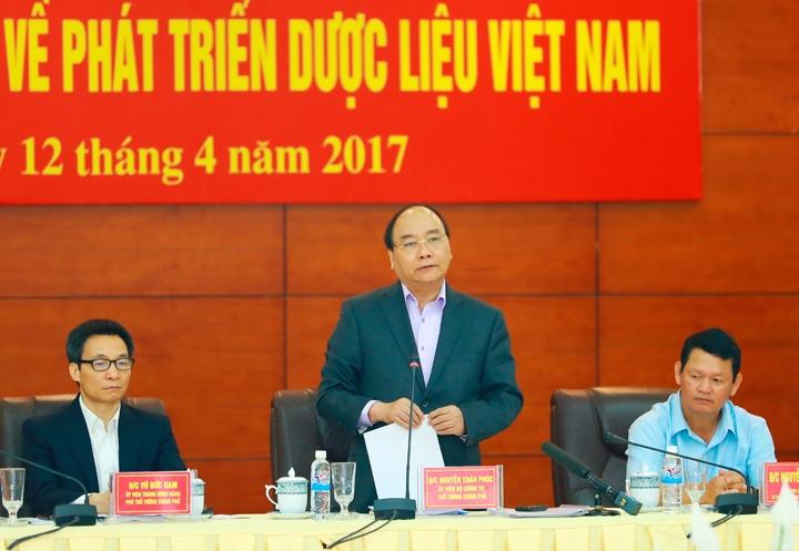 Thủ tướng Nguyễn Xuân Phúc chủ trì Hội nghị toàn quốc về phát triển dược liệu