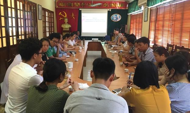 Trung tâm Nghiên cứu trồng và chế biến cây thuốc Hà Nội  Sơ kết công tác 6 tháng đầu năm 2018