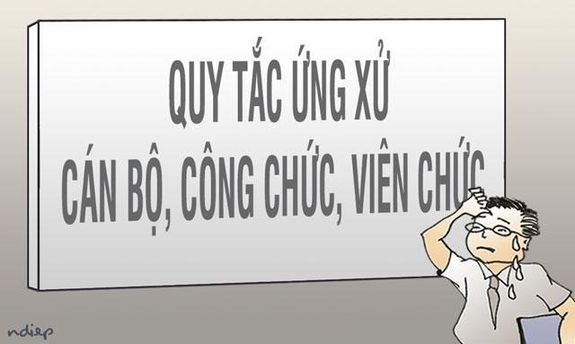 Quy tắc ứng xử của cán bộ, công chức, viên chức, người lao động trong các cơ quan thuộc thành phố Hà Nội