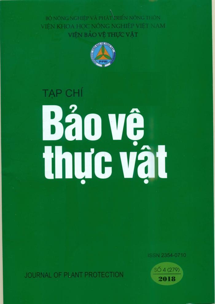 Thành phần sâu hại và động vật gây hại cây đan sâm tại Hà Nội