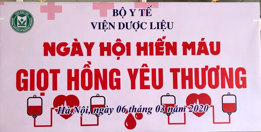 Ngày Hội hiến máu, giọt hồng yêu thương (06/3/2020)