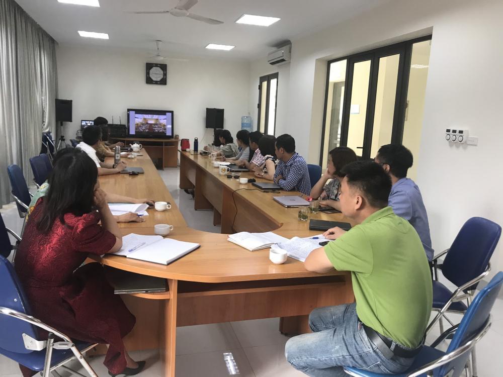 Tham gia học tập 10 chương trình công tác của Thành ủy Hà Nội khóa XVII