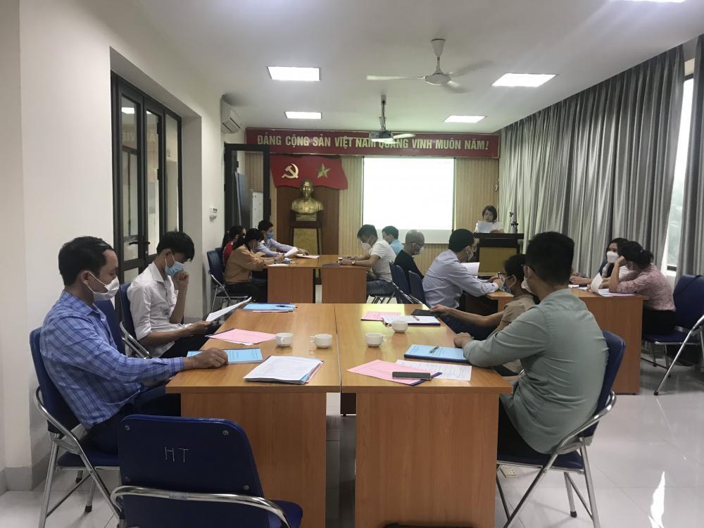 KHAI GIẢNG LỚP ĐÀO TẠO GACP THÁNG 10.2021